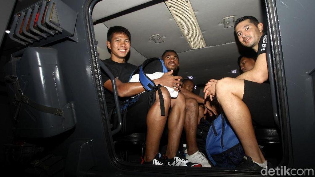 Rantis Kawal Pemain Persib Bandung Latihan ke GBK