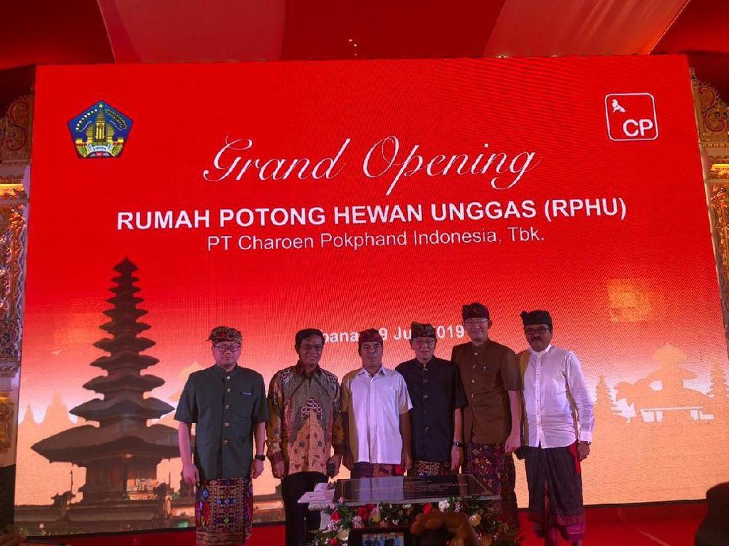 Charoen Pokphand Resmikan Rumah Potong Hewan Unggas ke-6 di Bali