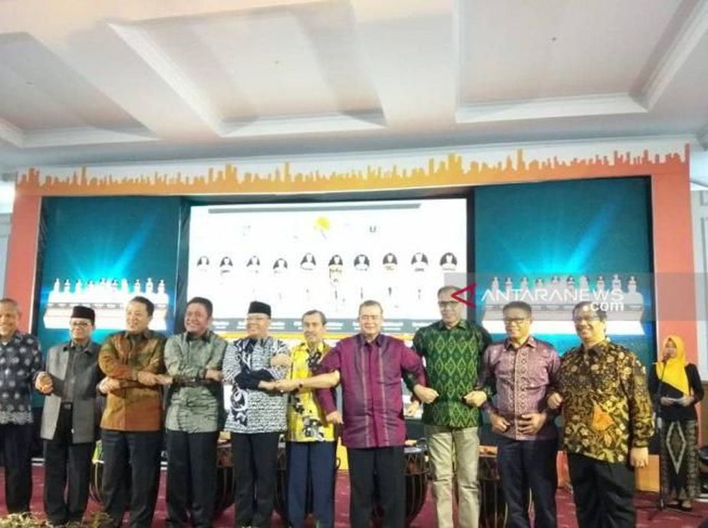 Gubernur Se-Sumatera Kumpul di Bengkulu Bahas Rel Kereta hingga Jalan Tol