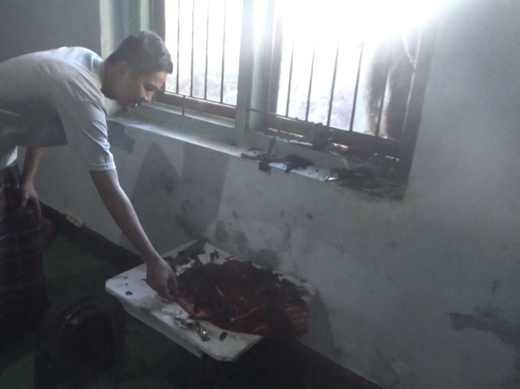 Asrama Mahasiswa Luwu Raya di Makassar Dilempar Bom Molotov