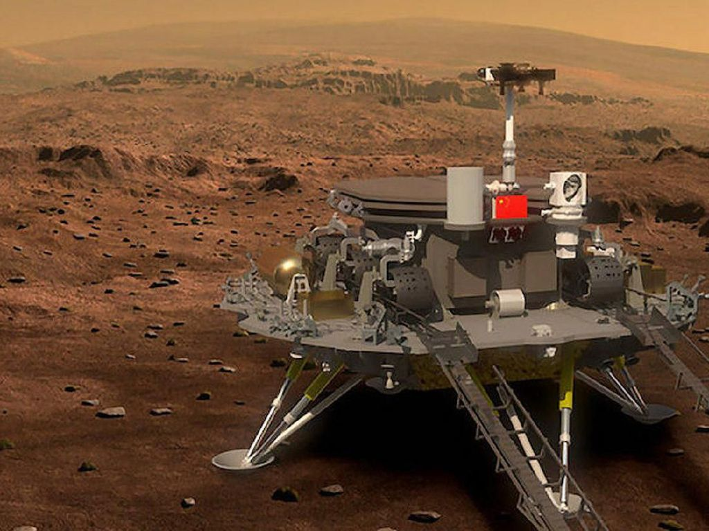 Rover China Siap Sambangi Mars Tahun Depan
