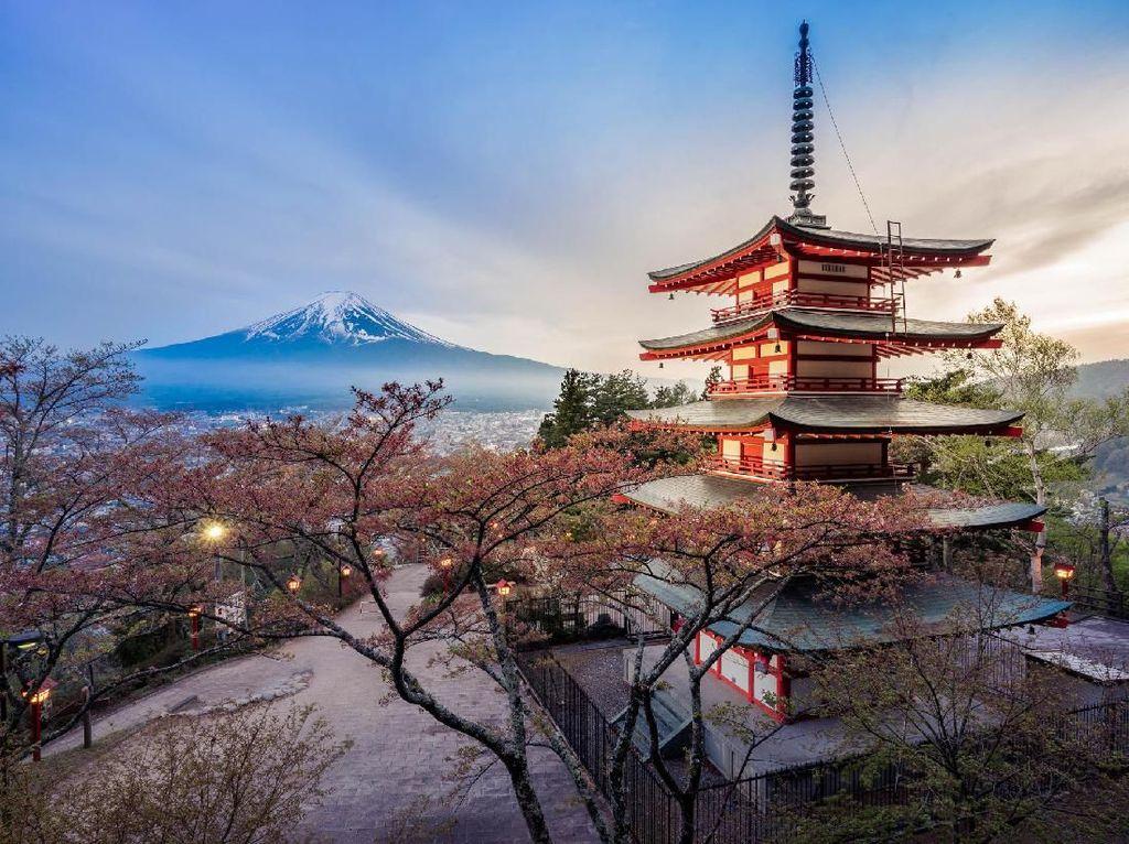 Foto: 7 Destinasi Buat Para Pecinta Gunung di Jepang