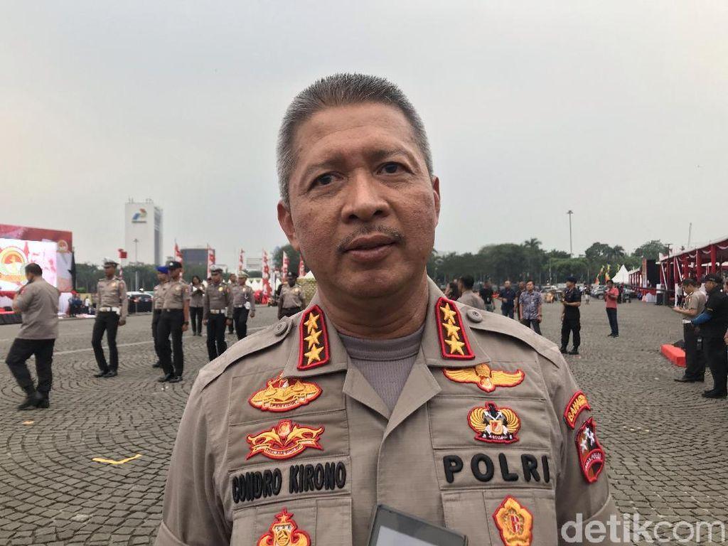 Jokowi akan Jadi Irup HUT Bhayangkara Ke-73, Prabowo-Sandi Diundang