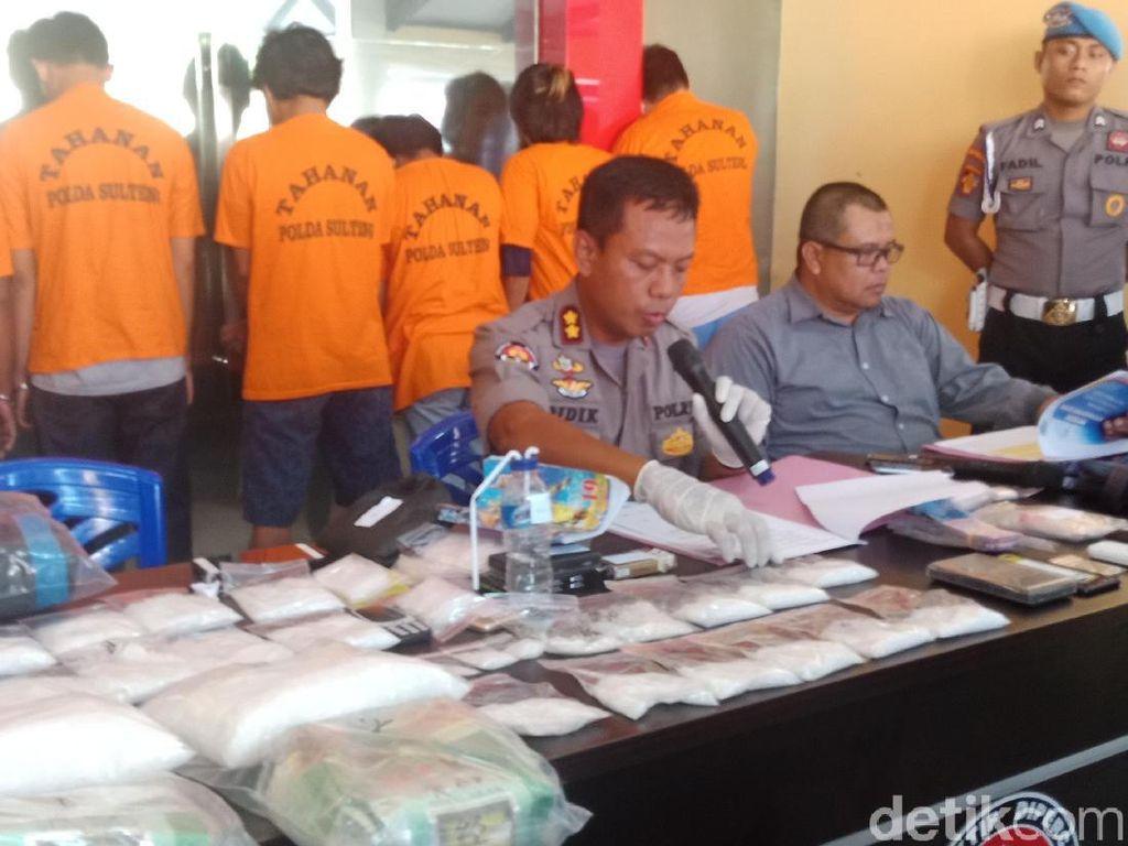 2 Kurir Sabu di Sulteng Ditangkap, Sabu 3,5 Kg Disita