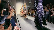 Batik dan Tenun Warnai Karya Para Siswa Sekolah Mode Italia