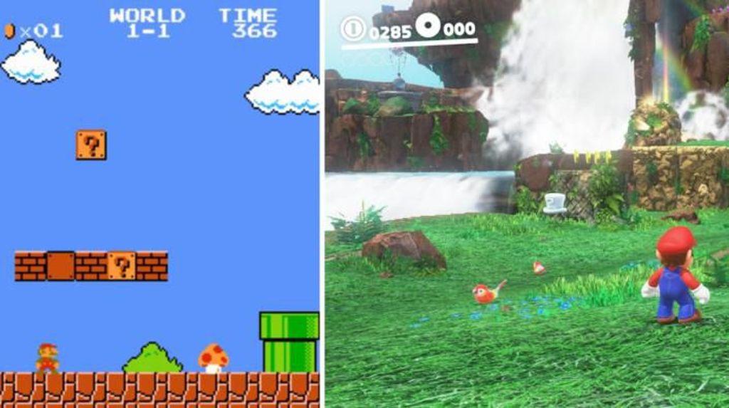 Grafis Game Dulu dan Sekarang: Mario Sampai Street Fighter