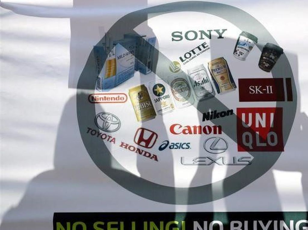 Netizen Korsel Ramai Serukan Boikot Jepang