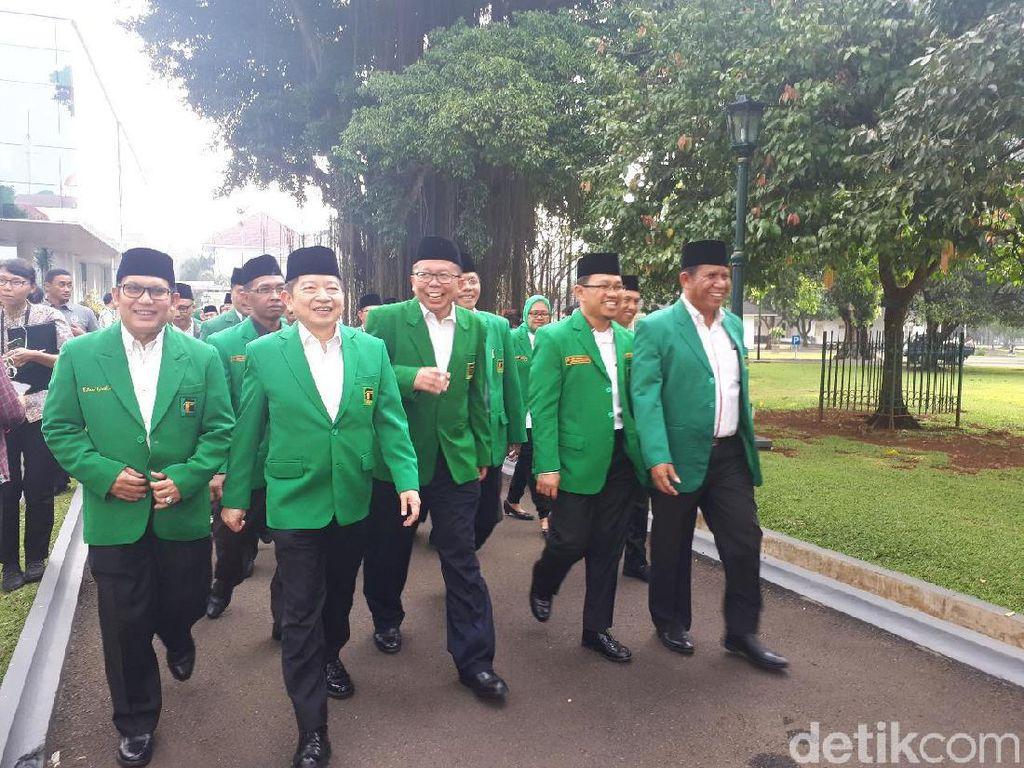 Jelang Mukernas, PPP Sowan ke Jokowi di Istana Bogor