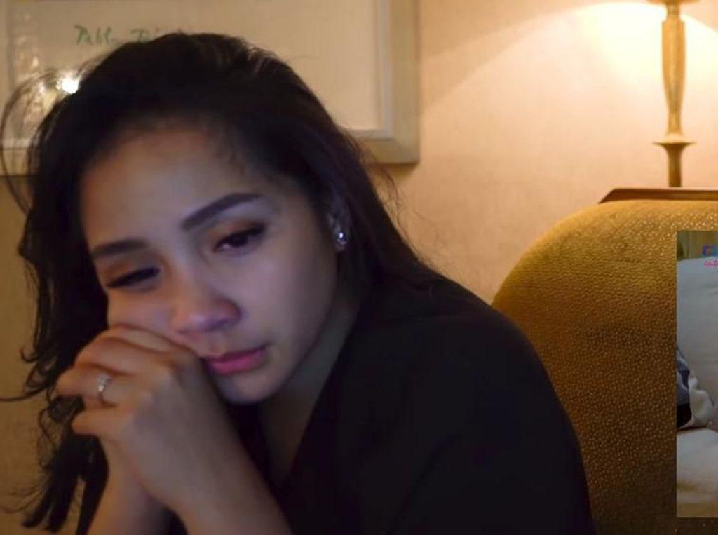 Nagita Slavina Sedih dan Terharu Lihat Pengakuan Raffi Ahmad
