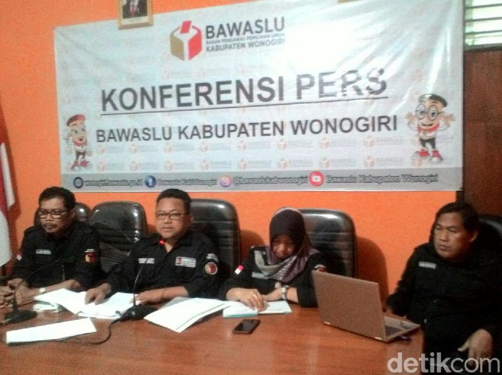Kampanyekan Jokowi dan PDIP, Camat di Wonogiri Terancam Turun Pangkat