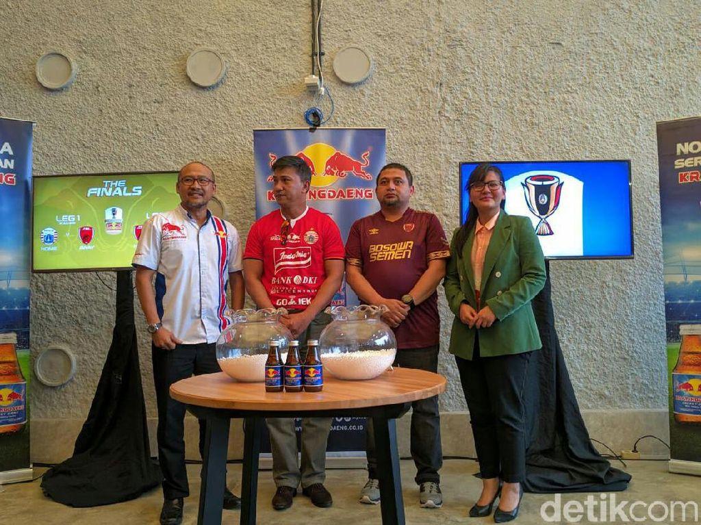 Drawing Final Piala Indonesia, Persija Menjamu PSM Lebih Dulu