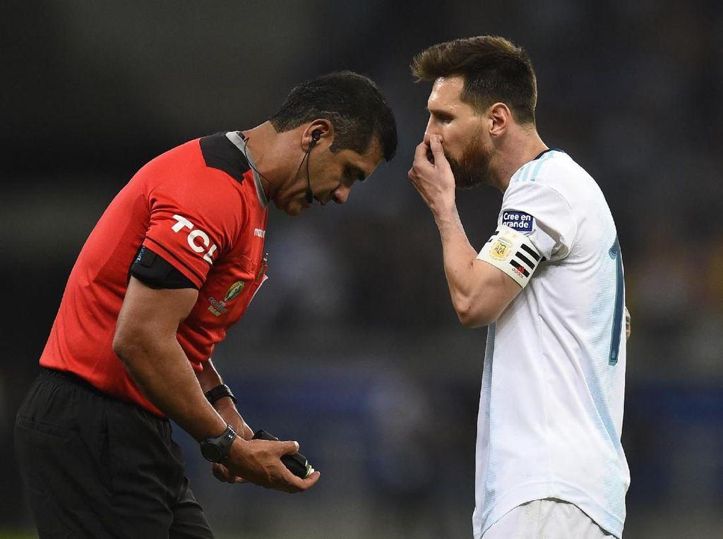Wasit Zambrano Hargai Pendapat Messi, meski Agak Terkejut