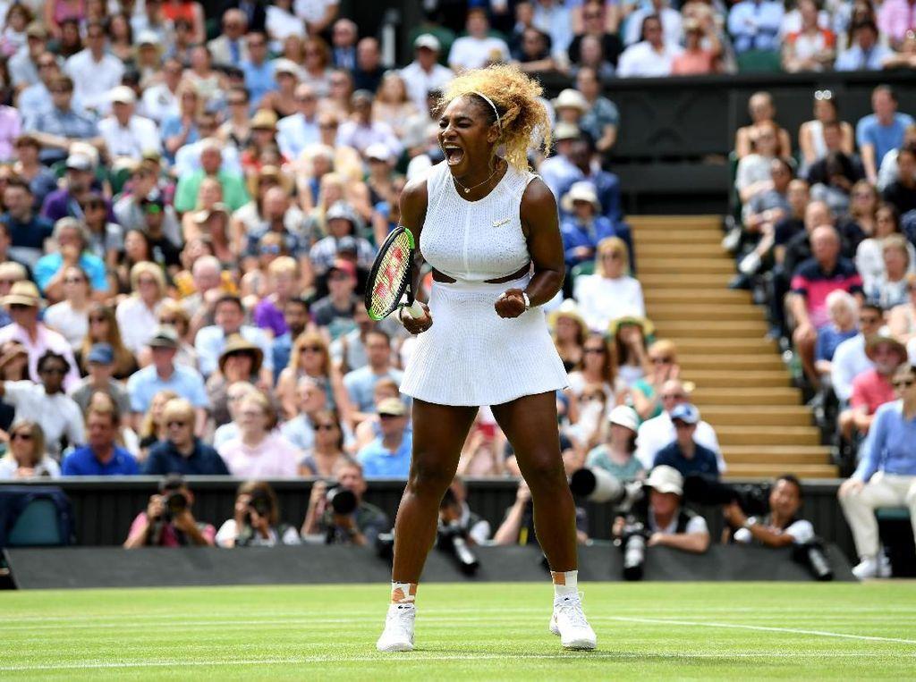 Serena, Halep Tiba di Semifinal Wimbledon