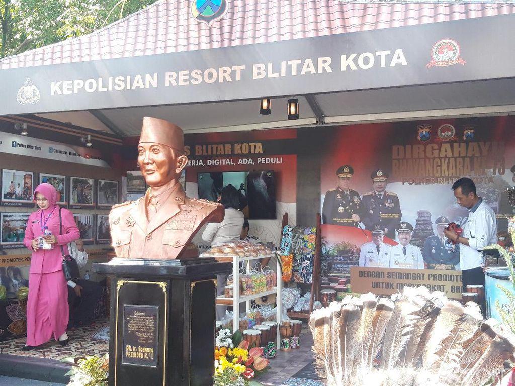 Kemeriahan Pesta Rakyat Hingga Pameran Polres di HUT Bhayangkara