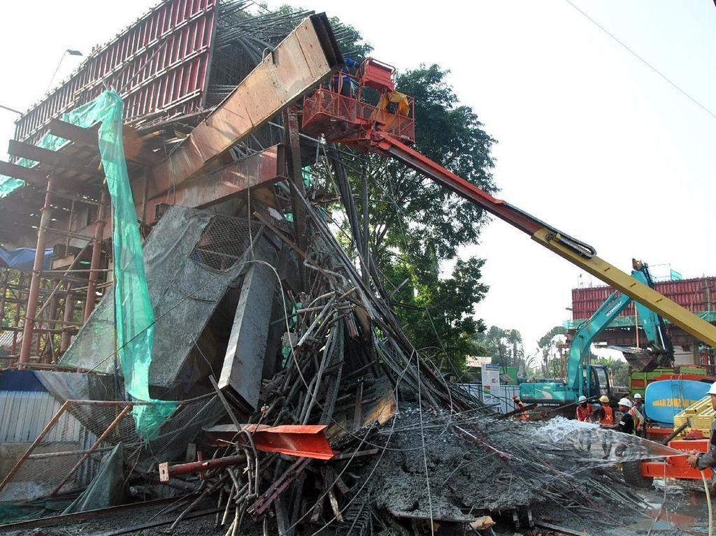 9 Insiden Konstruksi Ambruk di Proyek Jalan Tol RI