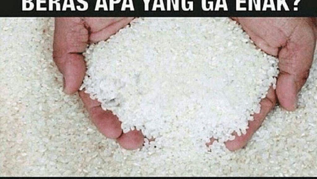 Bukan Hanya Bisa Jadi Nasi, Beras Bisa Juga Jadi Meme Nyeleneh