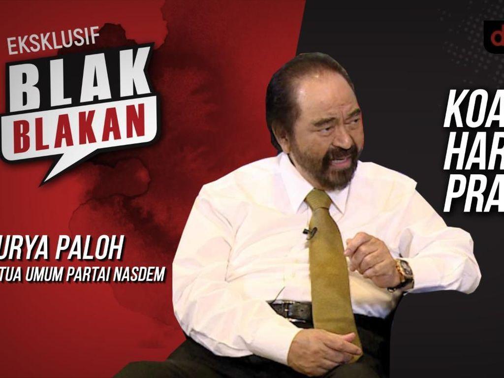 Blak-blakan Surya Paloh: Koalisi & Harga Diri Prabowo