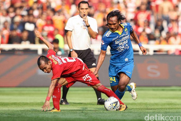 Persija Jakarta dan Persib Bandung bertanding di pekan ketujuh Liga 1 2019.