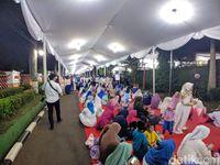Suasana tahilan di kediaman SBY di Cikeas Foto: Jefrie Nandy Satria/detikcom
