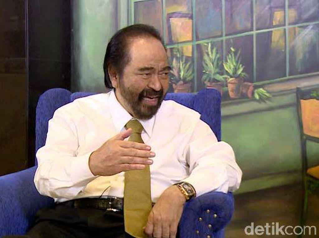 Surya Paloh Jawab Isu Jatah Kursi Menteri untuk NasDem dari Jokowi