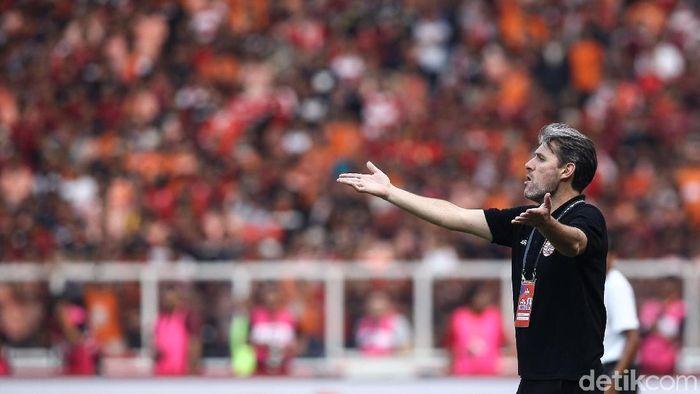 Julio Banuelos nikmati tekanan di Persija. (Foto: Rifkianto Nugroho/detikcom)