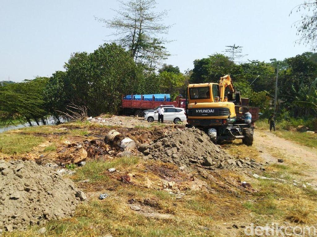 50 Drum Limbah di BKB Semarang Mengandung Amonia dan Bikin Kulit Gatal