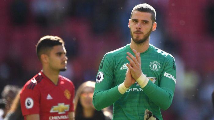 Kontrak David De Gea di Manchester United akan habis pada musim panas 2020 (Foto: Stu Forster/Getty Images)