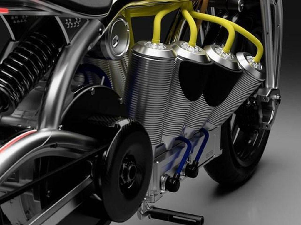 Pernah Lihat Desain Motor Listrik Secantik Ini