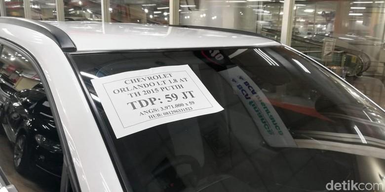 Mobil seken Chevrolet. Foto: Rizki Pratama/detikOto