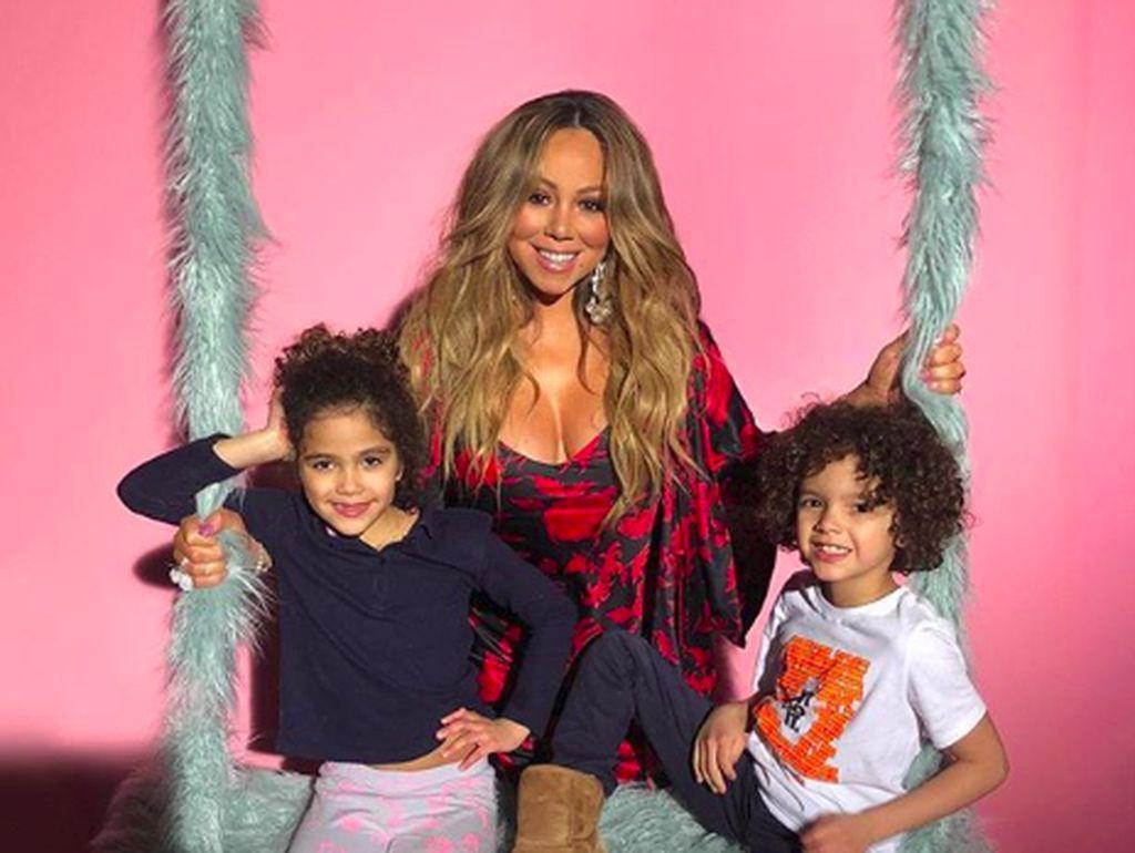 Mariah Carey Ajak Anak Kembarnya Nyanyi Bersama di Dubai