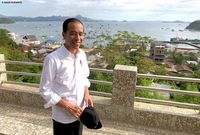 Presiden Jokowi di Labuan Bajo (Agus Suparto/Fotografer Jokowi)