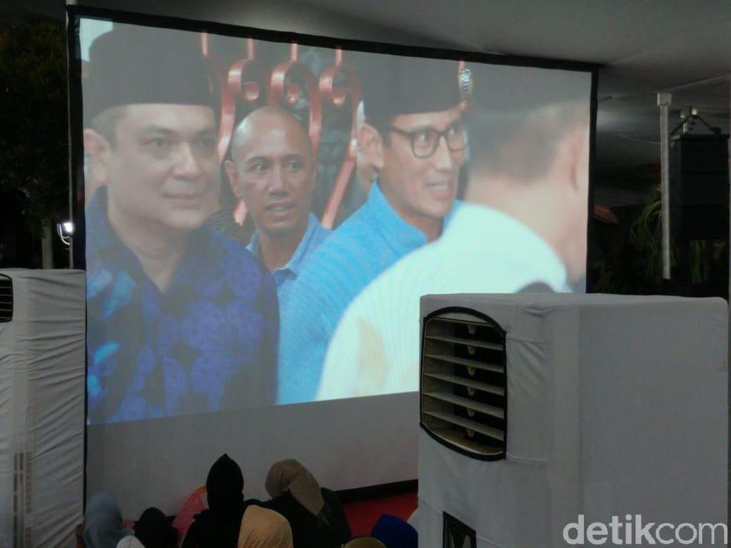 Sandiaga Hadiri Tahlilan 40 Hari Ani Yudhoyono di Cikeas