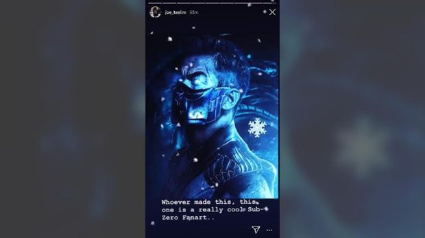 Joe Taslim Jadi 'Sub Zero' di Film 'Mortal Kombat'