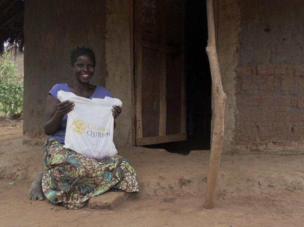 Kurban dari RI Bahagiakan Warga Kurang Mampu di Sudan