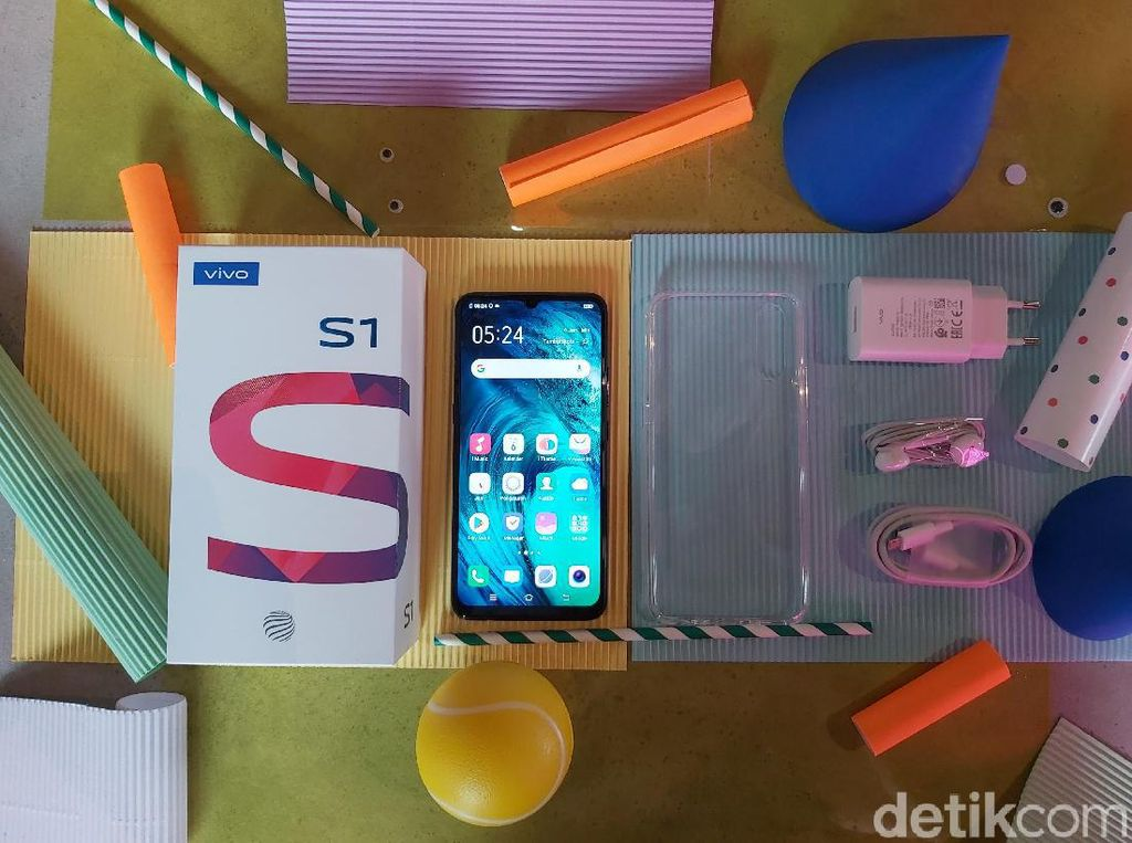 Unboxing S1, vivo Series S Perdana di Indonesia