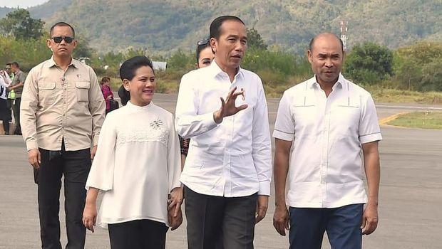 Jokowi Tinjau Infrastruktur Wisata Labuan Bajo