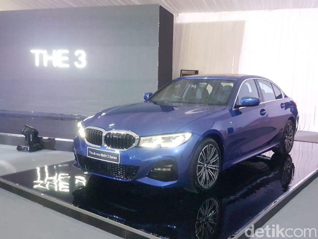 Tampil Perdana di GIIAS 2019, Intip Tampilan BMW Seri 3