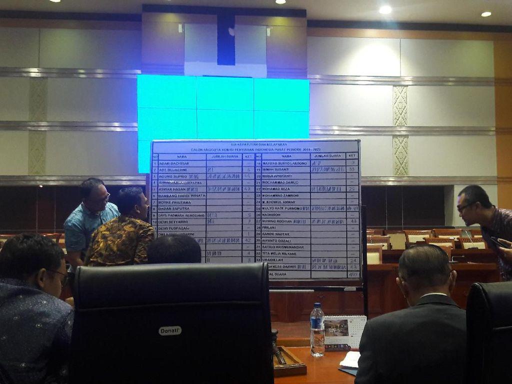 Komisi I DPR Sahkan 9 Komisioner KPI Terpilih, Ini Daftarnya