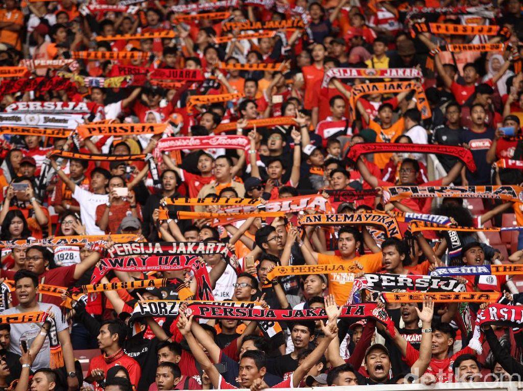 The Jakmania Oranyekan Stadion GBK