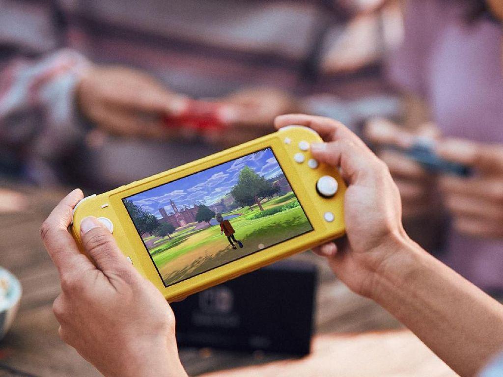 Ini Nih Tampilan Nintendo Switch Lite yang Lebih Kecil dan Praktis