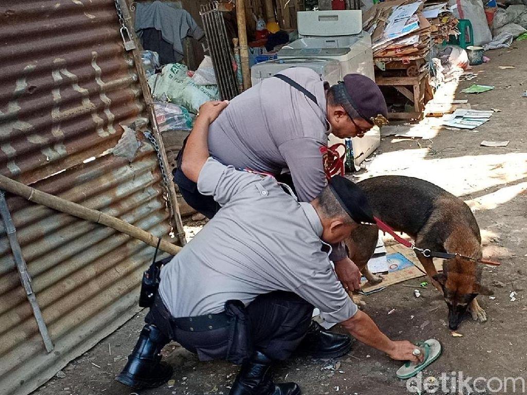 Anjing Pelacak Dikerahkan Selidiki Ledakan di Probolinggo