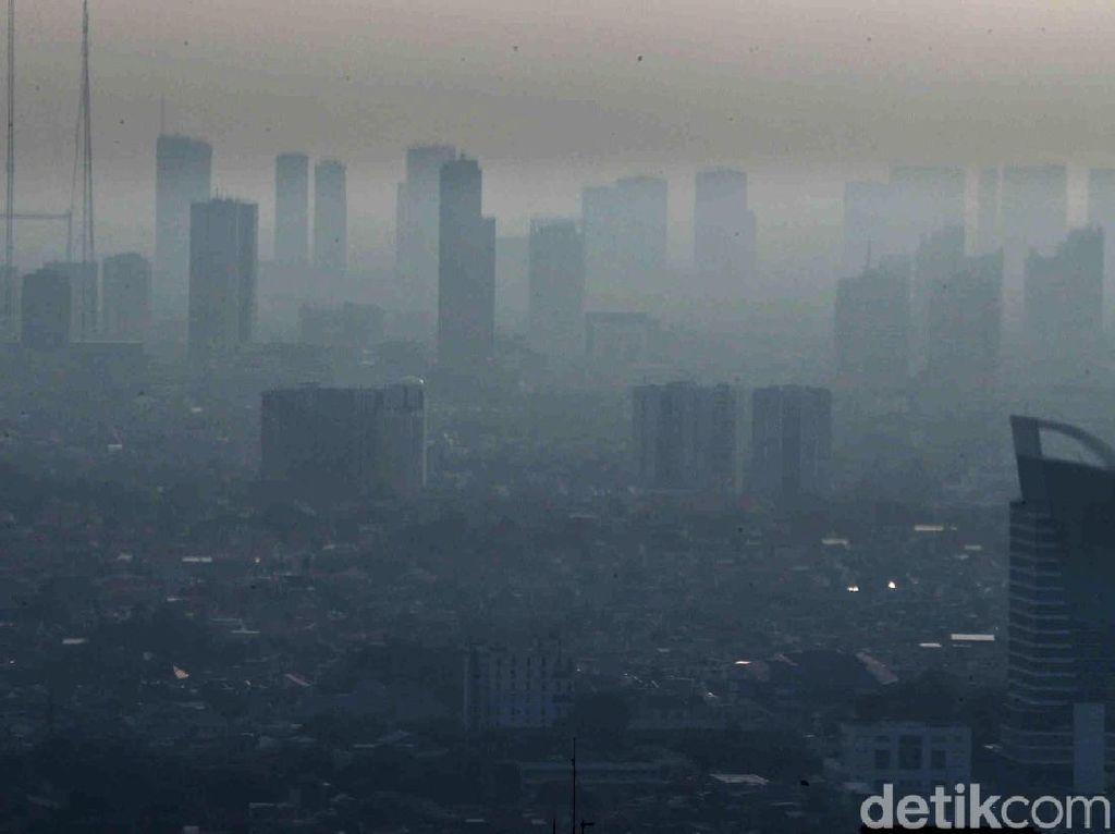 Potret Polusi Ibu Kota Jakarta yang Tak Berkesudahan