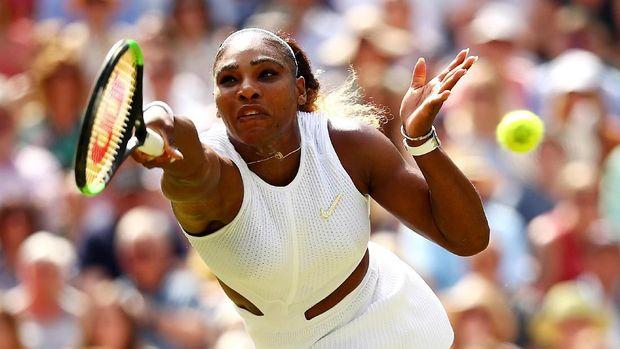 Serena Williams mencapai final Grand Slam pertamanya sejak memenangi Australia Terbuka 2017.