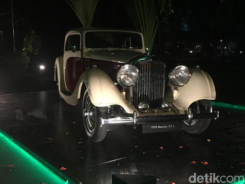 Mobil Klasik Bentley 3.5 Liter, Masih Mulus Banget