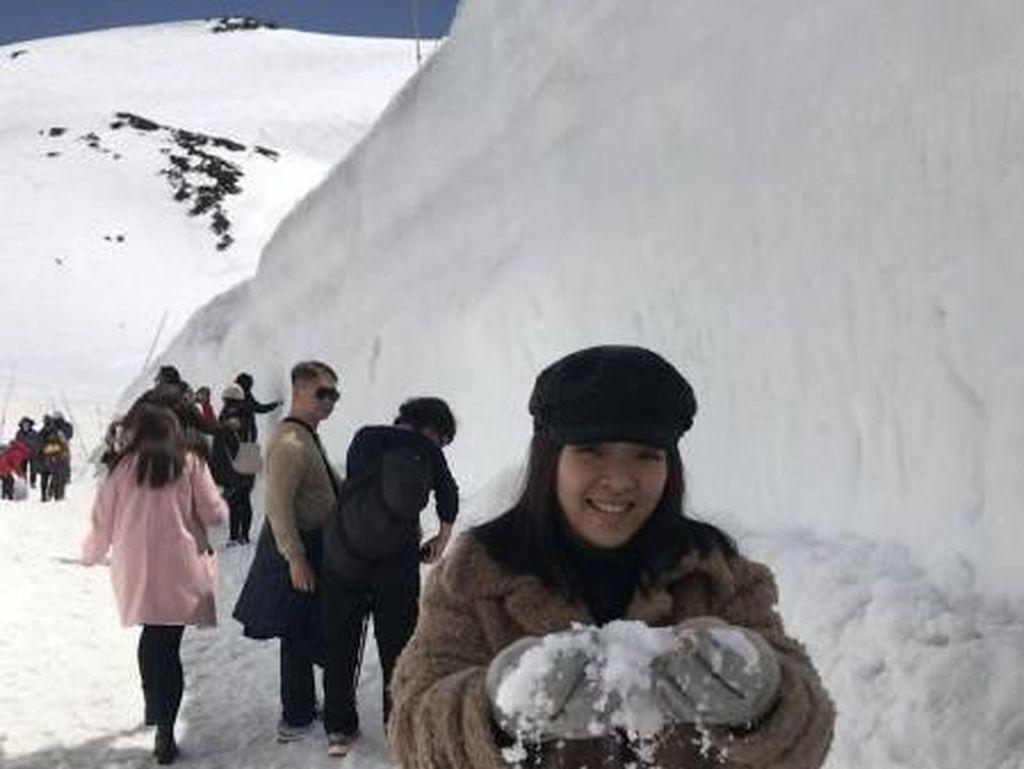 Bukan Film Games of Thrones, Ini Dinding Salju Asli di Jepang