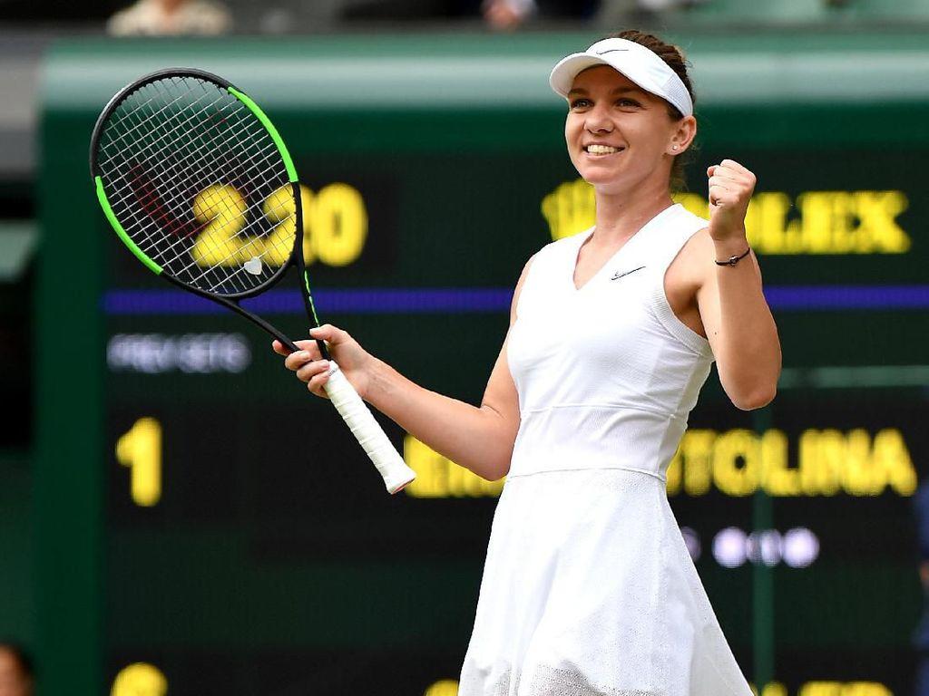 Final Wimbledon Pertemukan Halep Vs Serena