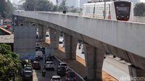 LRT Jakarta Diteruskan ke Stadion Baru Persija, Ditarget Kelar 2022