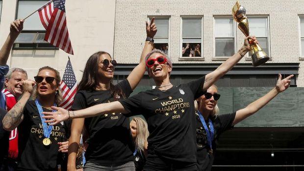 AS Juara Piala Dunia Wanita, Rapinoe Dijagokan Jadi Presiden