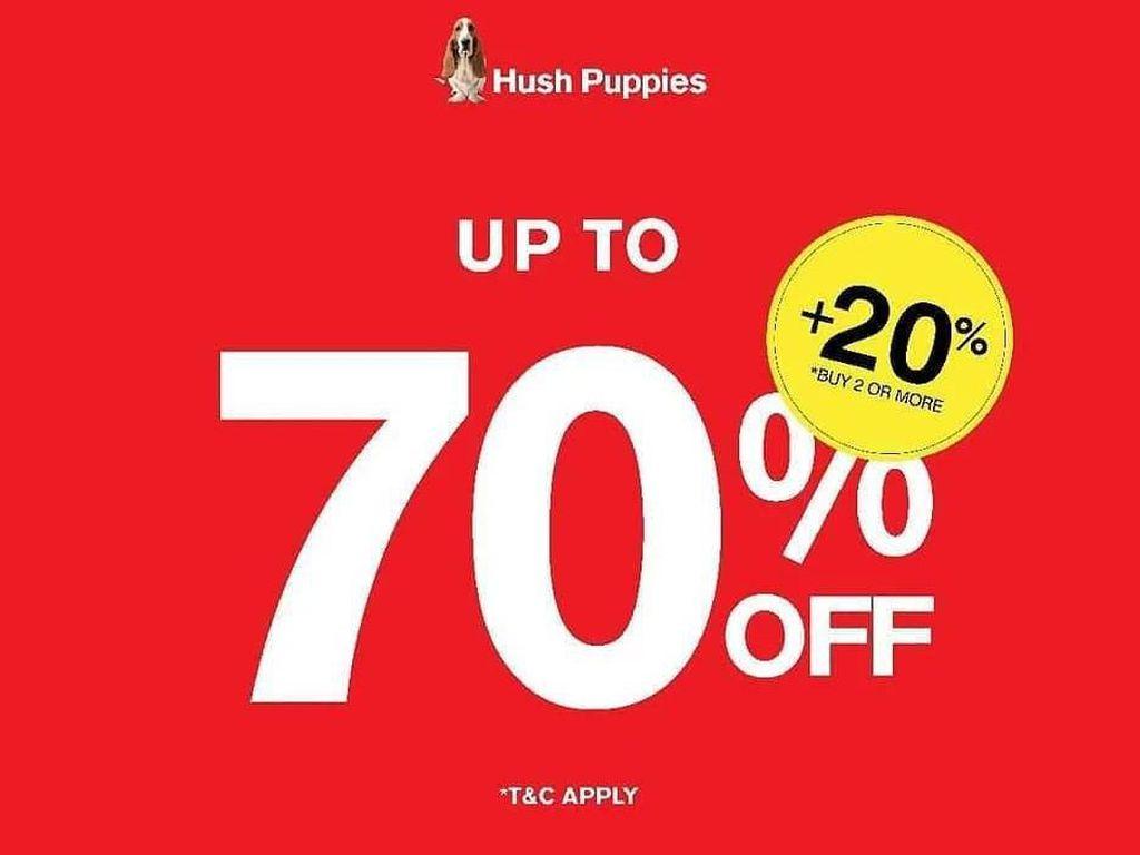 Hush Puppies Hingga Bershka, 10 Brand yang Bulan Ini Diskon Hingga 70%