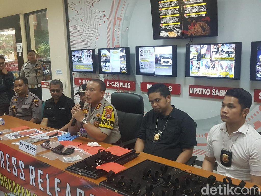 Rampok Toko Emas di Tangerang, WN Malaysia Belajar dari YouTube